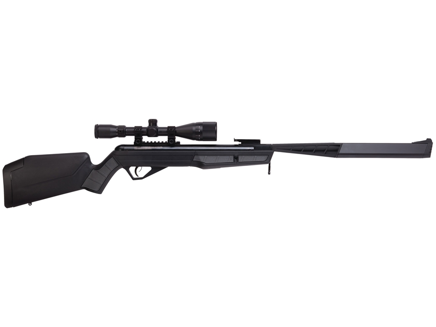 Benjamin Mayhem SBD Nitro Piston 2 Break Barrel Air Rifle Pellet Black Synthetic Stock ...