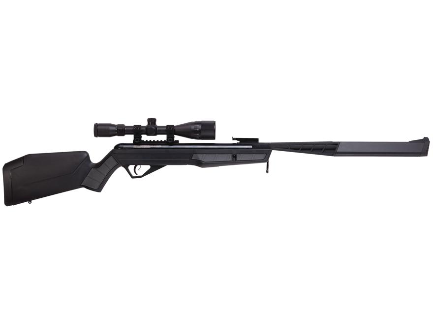 Benjamin Mayhem SBD Nitro Piston 2 Break Barrel Air Rifle Pellet Black Synthetic Stock ...