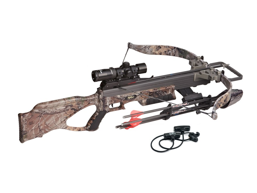 Excalibur Matrix 355 CRT Crossbow Package with Tact-Zone Illuminated Scope Realtree Xtr...