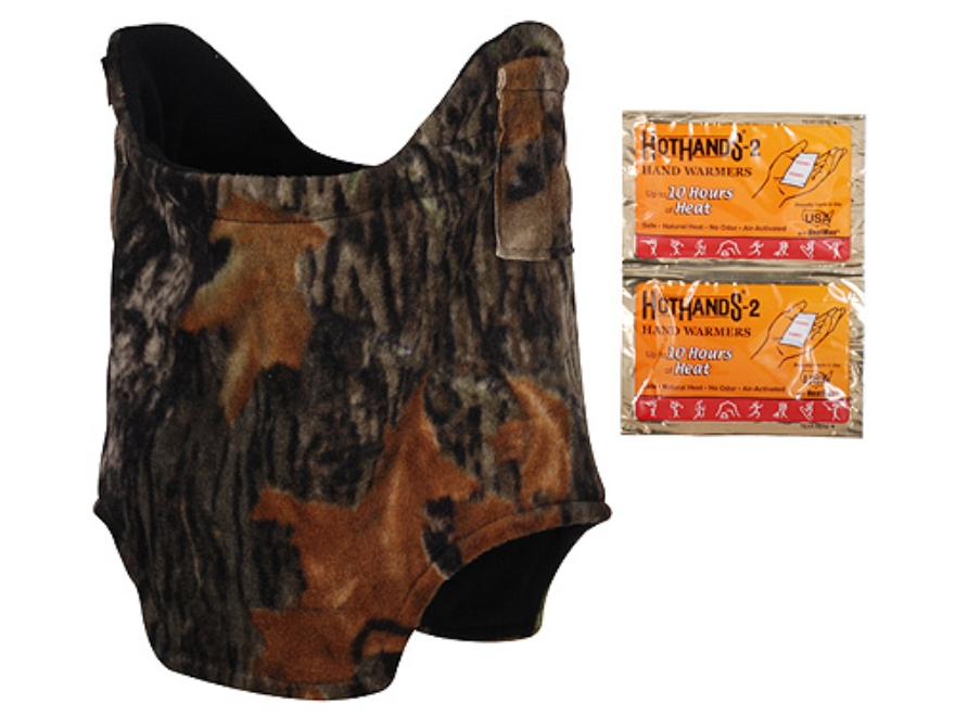 HotHands Heated Neck Gaiter Synthetic Blend Mossy Oak Break-Up Camo