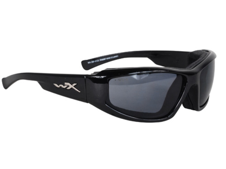 Wiley X Jake Sunglasses Smoke Lens
