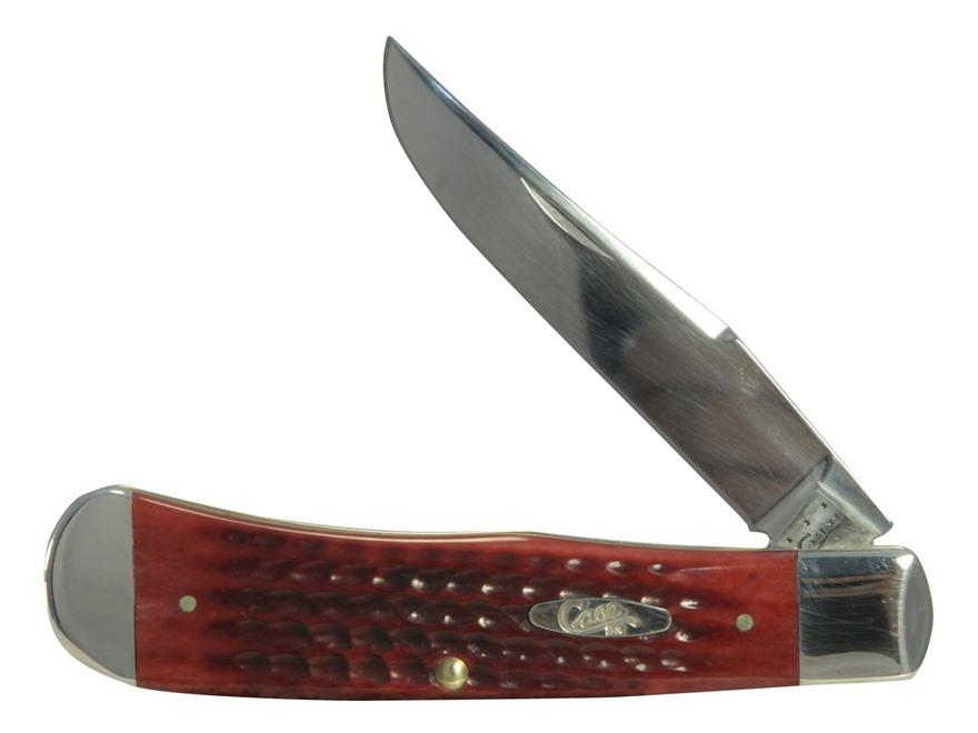 """Case Backpocket Pocket Worn Folding Pocket Knife 4.625"""" Clip Point Stainless Steel Blad..."""