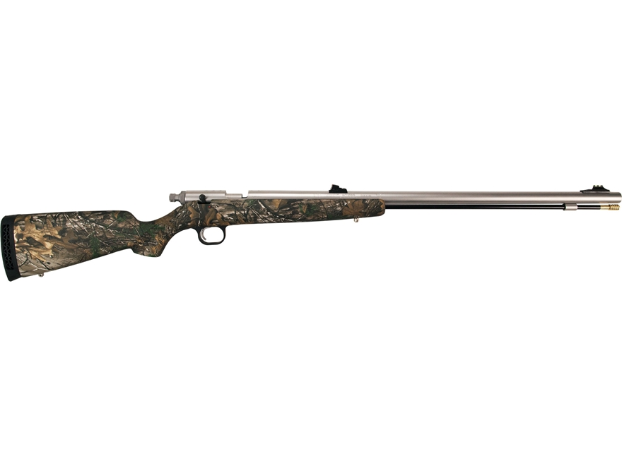 "Knight Bighorn Full Plastic Jacket Muzzleloading Rifle .50 Caliber 26"" Stainless Steel ..."