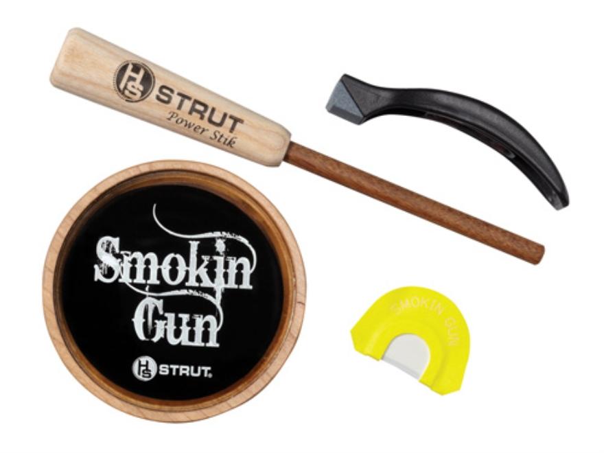 H.S. Strut Smokin' Gun Glass with Diaphragm Turkey Call Pack