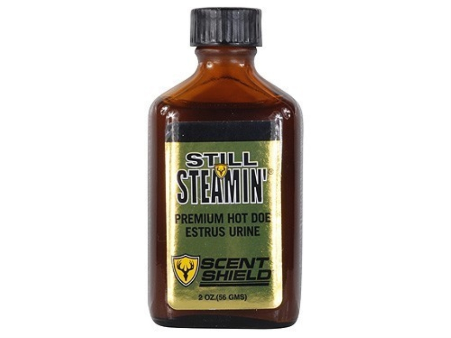 Still Steamin' Premium Hot Doe Estrus Urine Deer Scent Liquid 2 oz