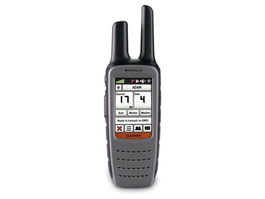 Garmin Rino 650 Handheld GPS Unit