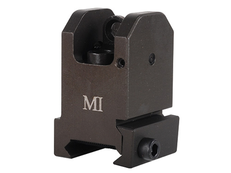 Midwest Industries Fixed Rear Sight AR-15 Flat-Top Aluminum OD Green