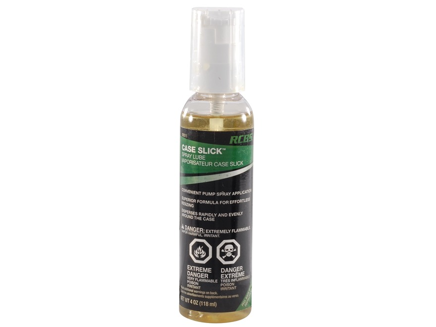 RCBS Case Slick Spray Lube 4 oz Pump
