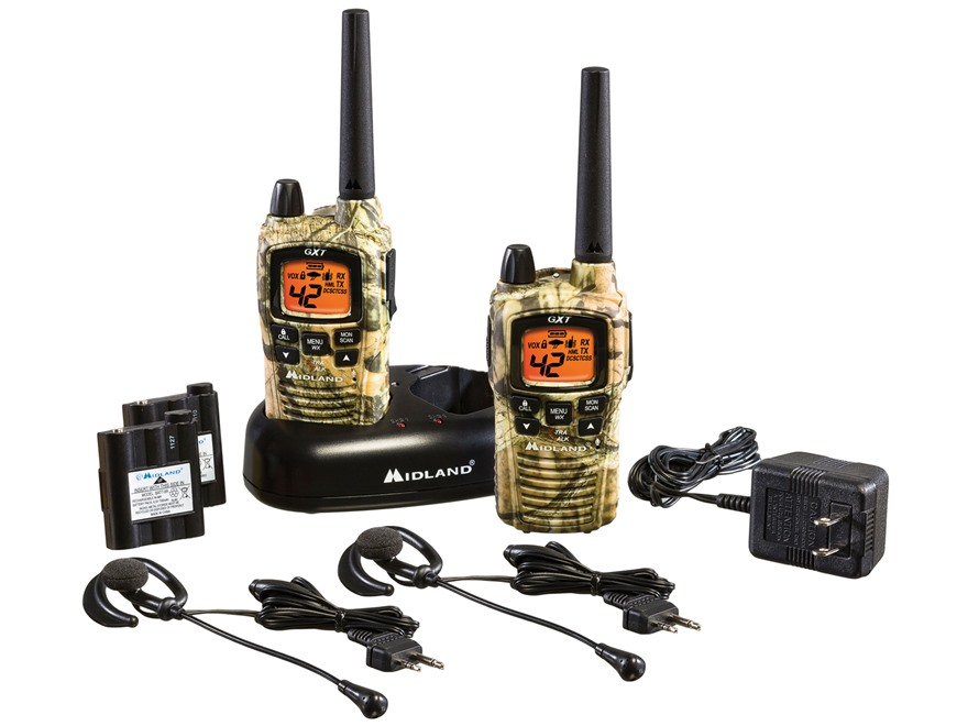 Midland GXT895VP4 Two-Way Radio with NOAA Weather Alert Combo