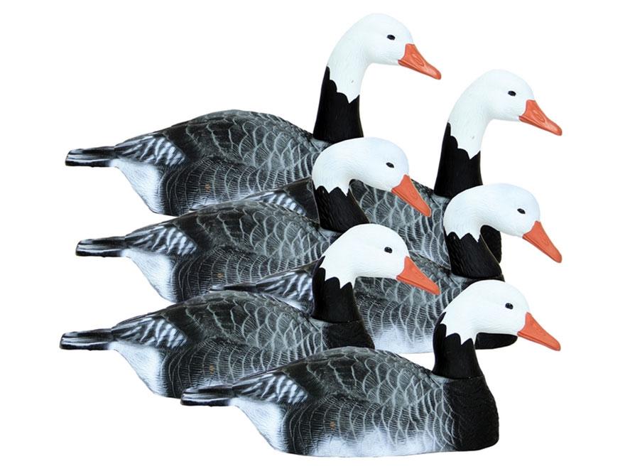 Higdon Full Size Half Shell Blue Goose Decoy Polymer Pack of 6