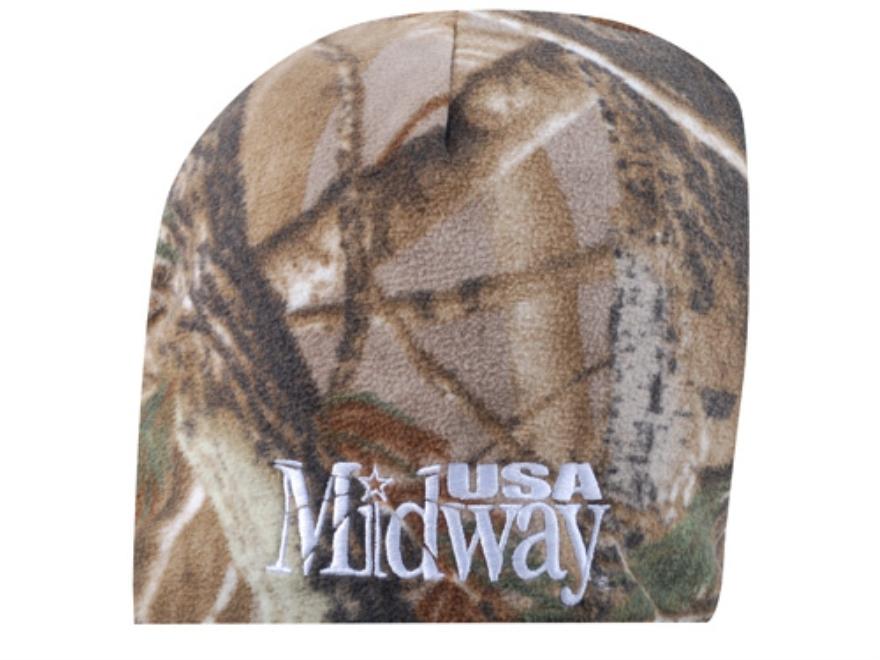 MidwayUSA Beanie Fleece Polyester Realtree AP Camo