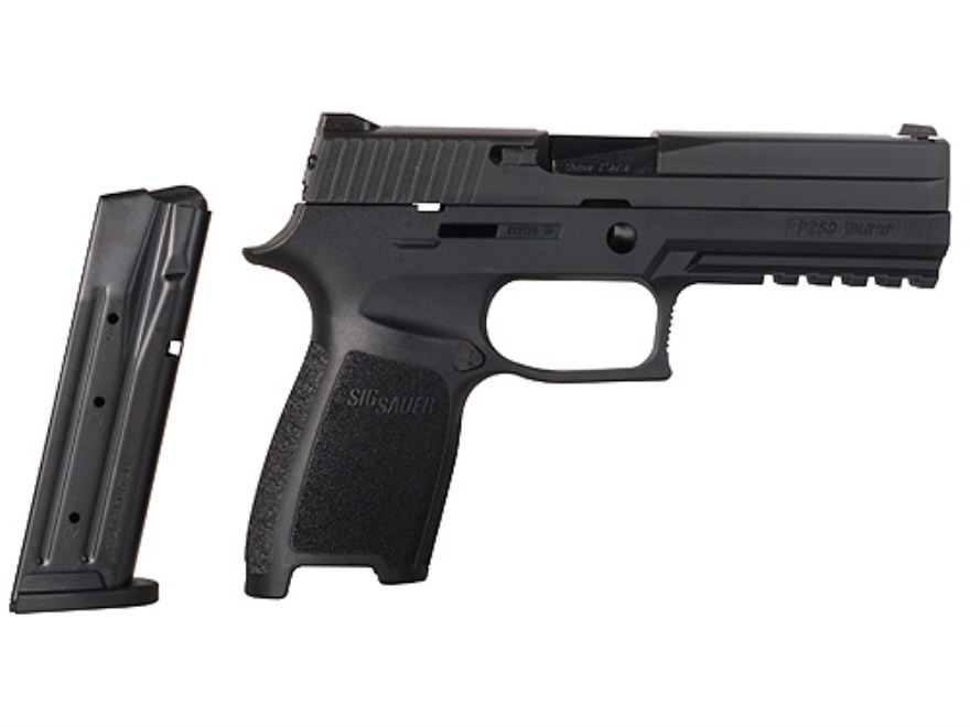 Sig Sauer P250 Caliber X-Change Kit Sig Sauer P250 Full Size 9mm Luger with 17-Round Ma...