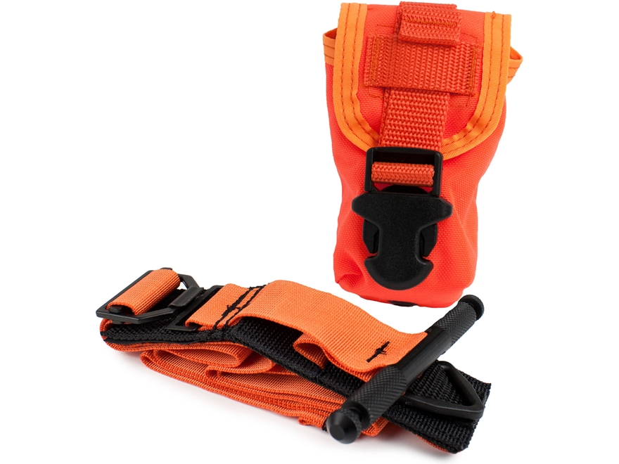 TMS Outdoors Tactical Tourniquet Orange