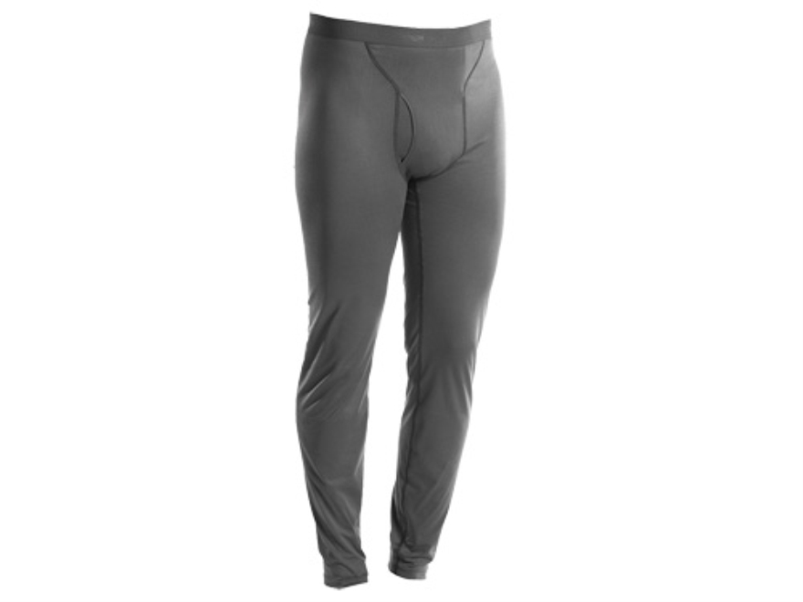 Sitka Gear Men's Core Base Layer Pants Polyester Charcoal Large 34-37