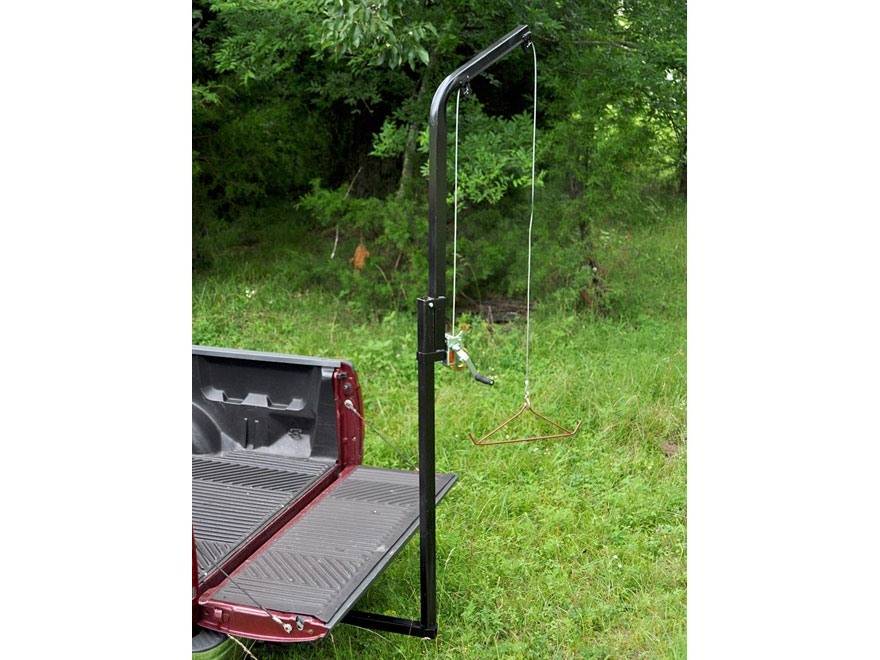 Viking Solutions Rack-Jack Hitch Mounted Game Hoist Steel Black