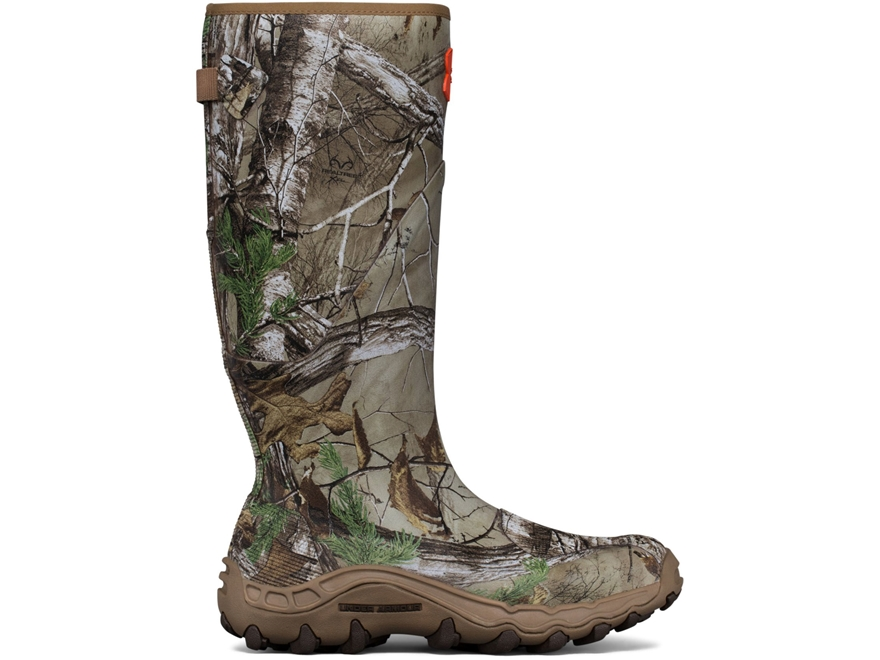 "Under Armour UA Mud Hawg 16"" Uninsulated Waterproof Hunting Boots Rubber Men's"