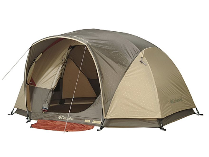Alternate Image 1  sc 1 st  MidwayUSA & Columbia Destination Point 4 Man Dome Tent 120 x 84 - UPC: 2700151781
