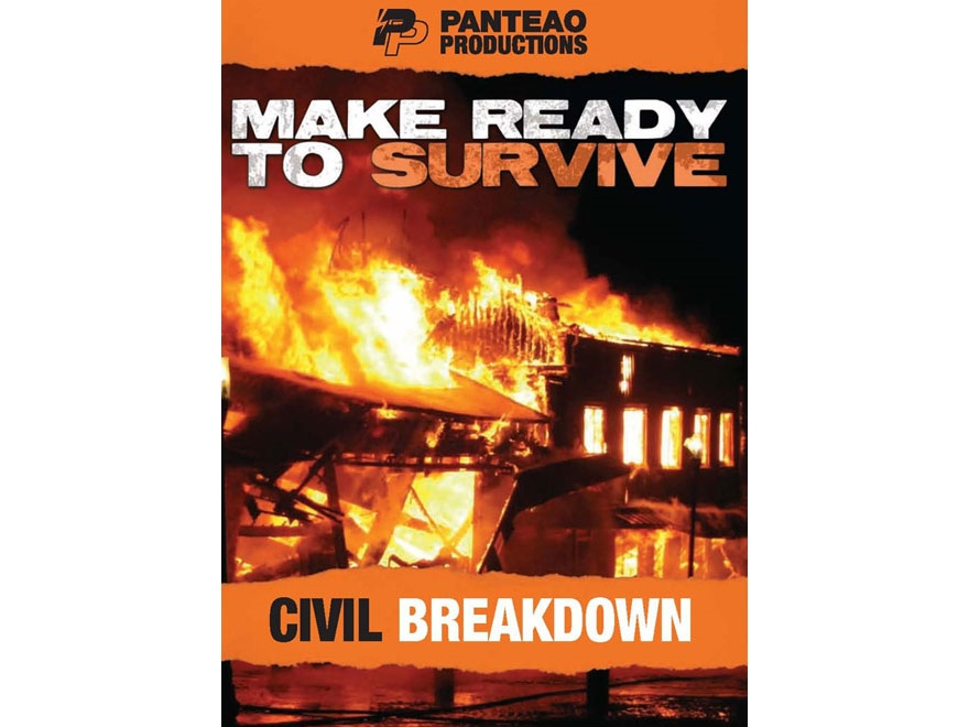 "Panteao ""Make Ready to Survive: Civil Breakdown"" DVD"