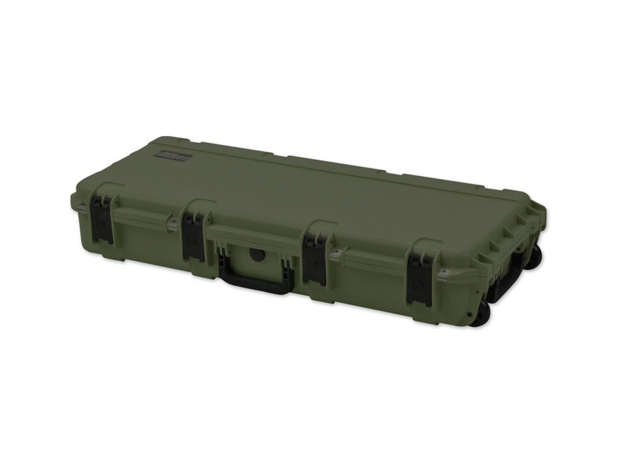 "SKB iSeries 3614 M4/Short Rifle Case 36-1/2"" Polymer OD Green"