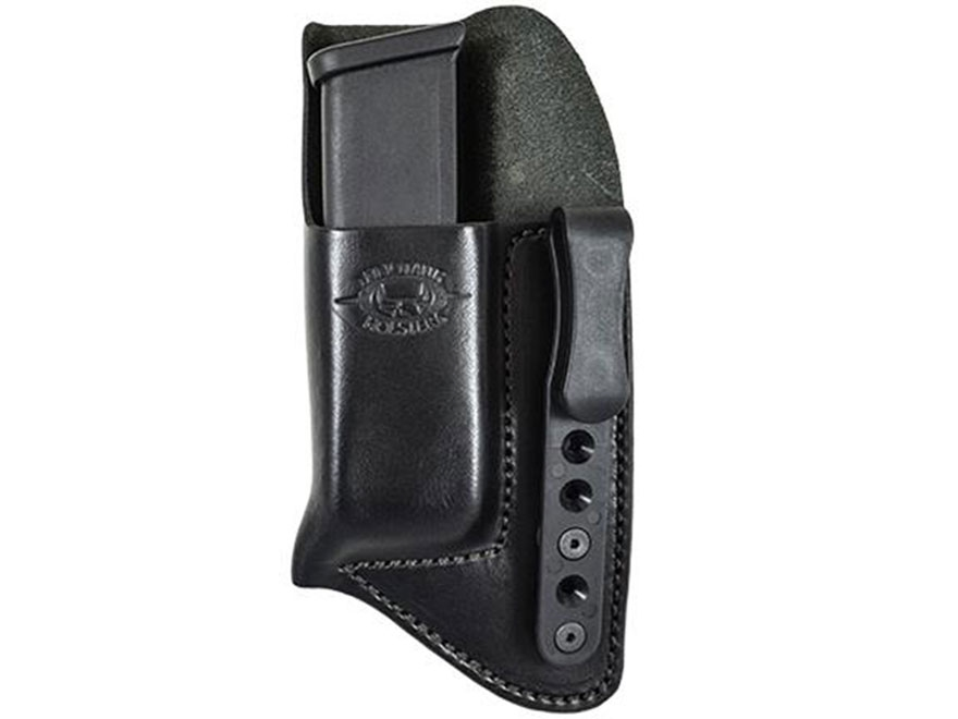 Comp-Tac Concealment Magazine Pouch Inside the Waistband Glock 43 Kydex Black