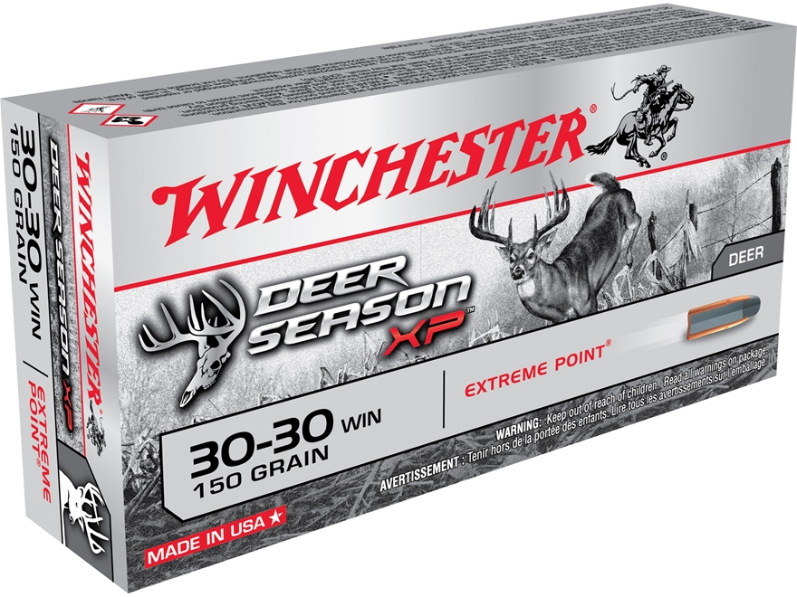 Winchester Deer Season XP Ammunition 30-30 Winchester 150 Grain Extreme Point Polymer Tip