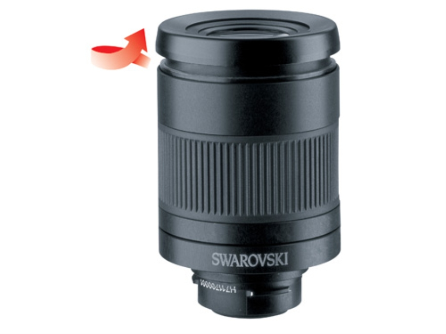 Swarovski Spotting Scope Eyepiece 25-50x with Lens Cover