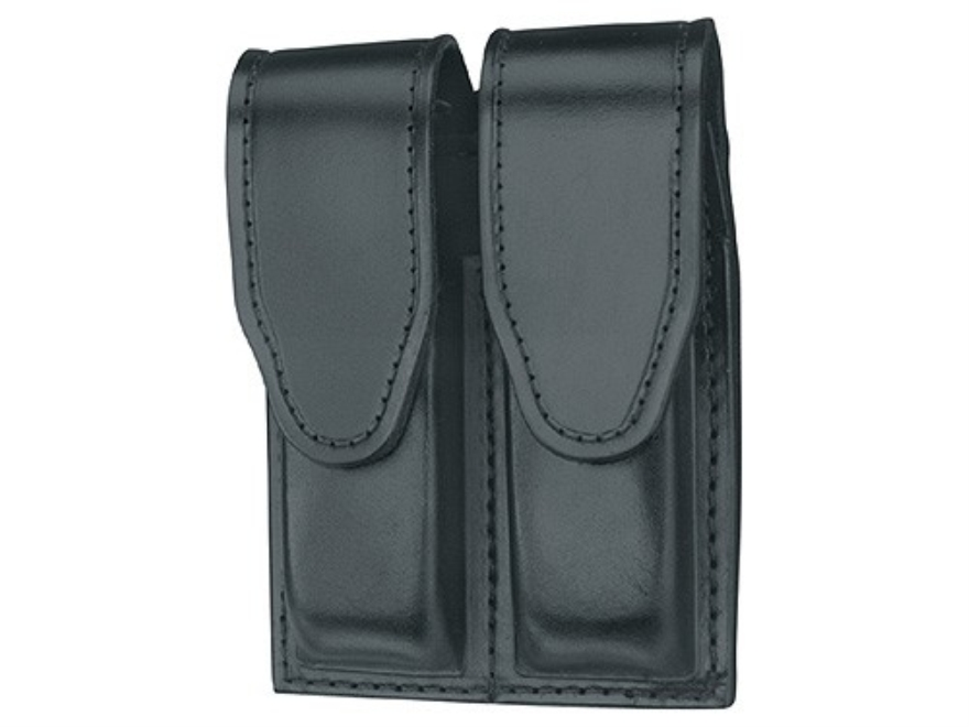Gould & Goodrich B629 Double Magazine Pouch Beretta 92, 96, Springfield  XD9, XD40 Leat...