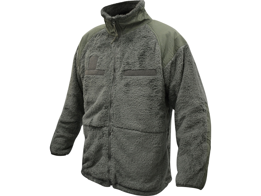 Surplus Gen III Shaggy Fleece Jacket Foliage Green