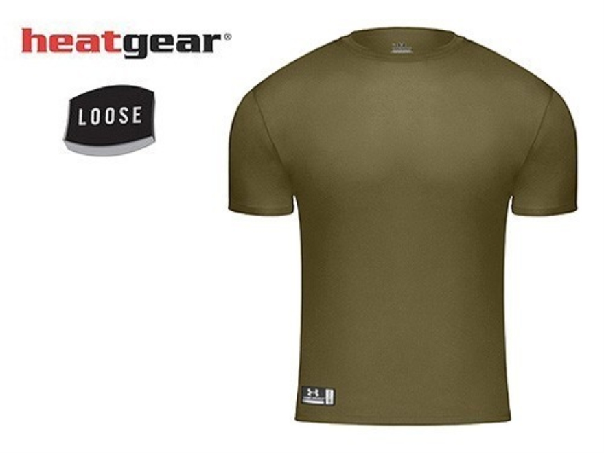 Under armour tactical heatgear loose fit t shirt upc for Under armor tactical t shirt