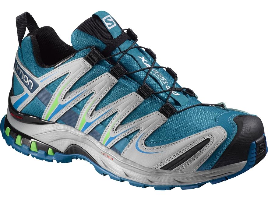 "Salomon XA Pro 3D CS 4"" Waterproof Trail Running Shoes Synthetic Fog Blue/Light Onix/Ig..."