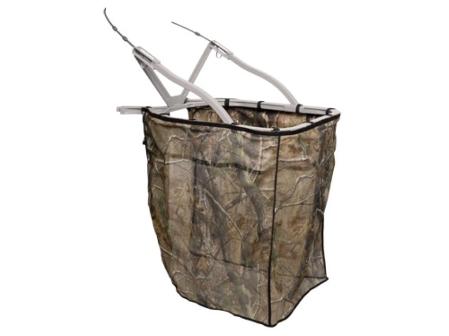 Summit Climbing Treestand Drop Blind Polyester Realtree AP Camo