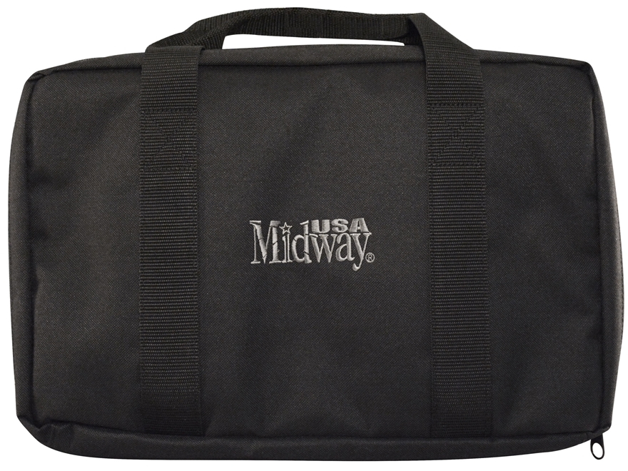 MidwayUSA Tactical Four Pistol Case Black
