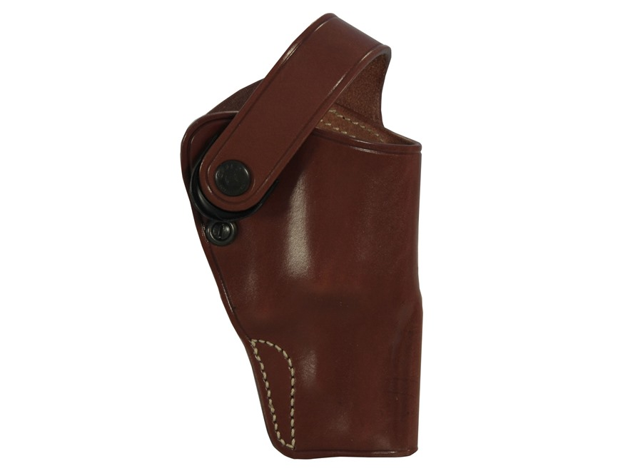 Galco D.A.O. Dual Action Outdoorsman Belt Holster Right Hand S&W Governor Leather Tan