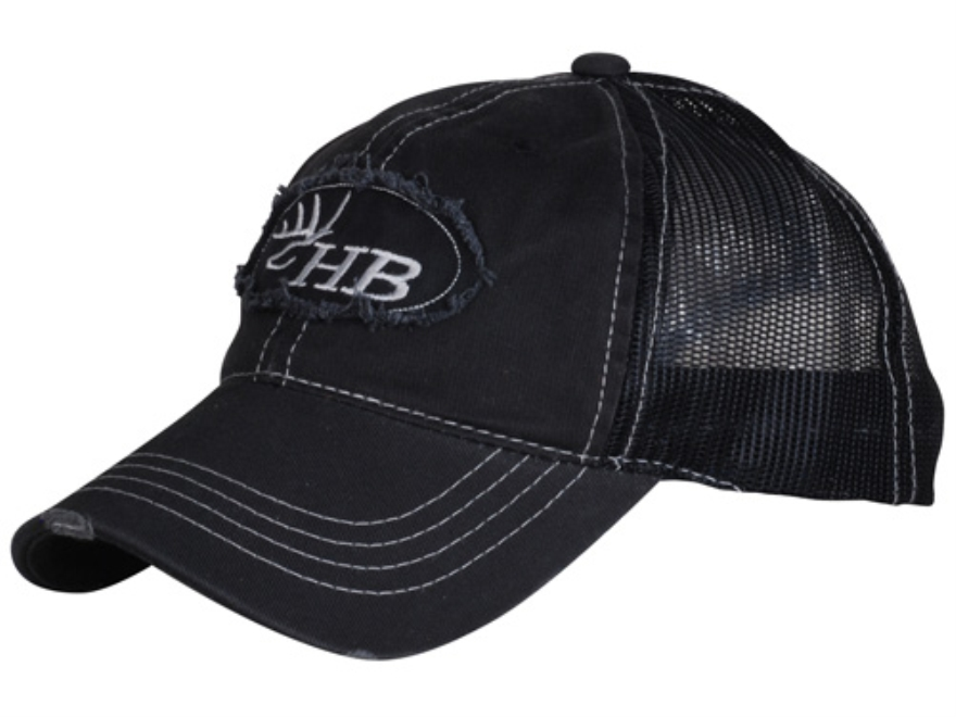 Heartland Bowhunter HB Logo Trucker Cap Cotton Black