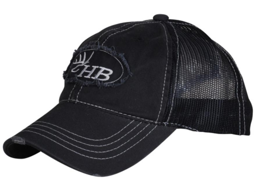 Heartland Bowhunter HB Logo Trucker Cap Cotton Black