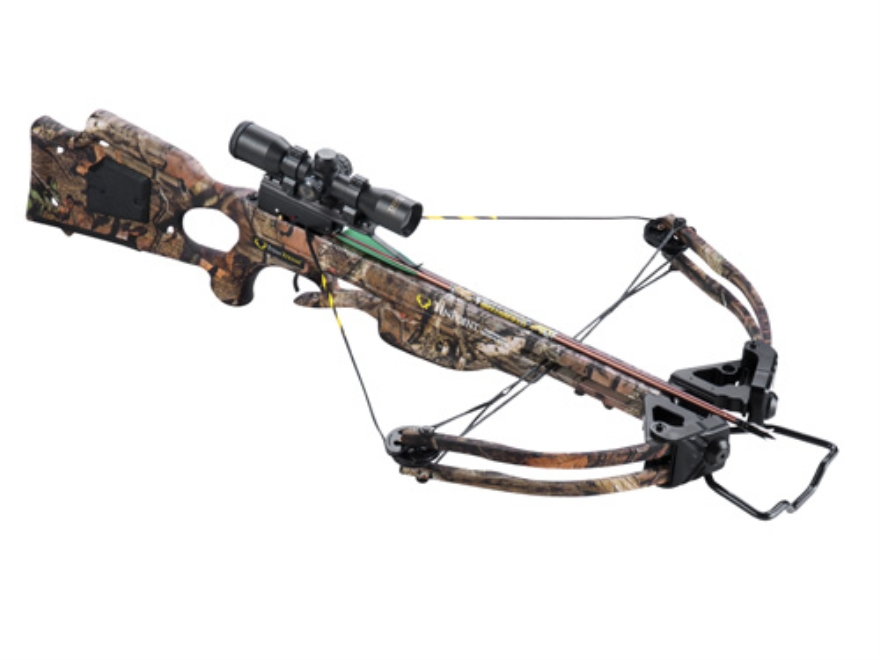 TenPoint Titan Xtreme Crossbow Package with 3x Pro-View Scope Mossy Oak Break-Up Infini...