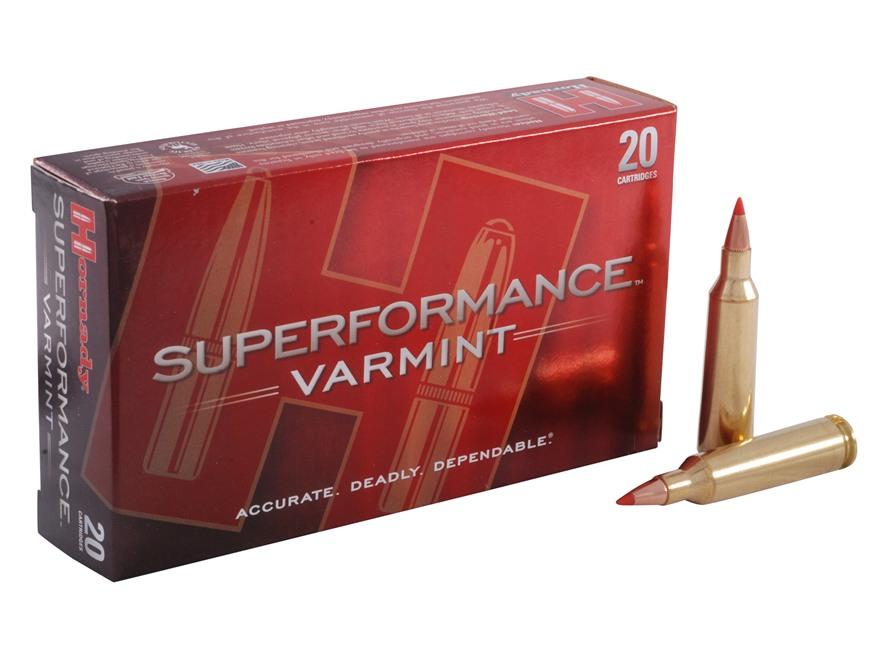 Hornady Superformance Varmint Ammunition 22-250 Remington 50 Grain V-MAX Box of 20