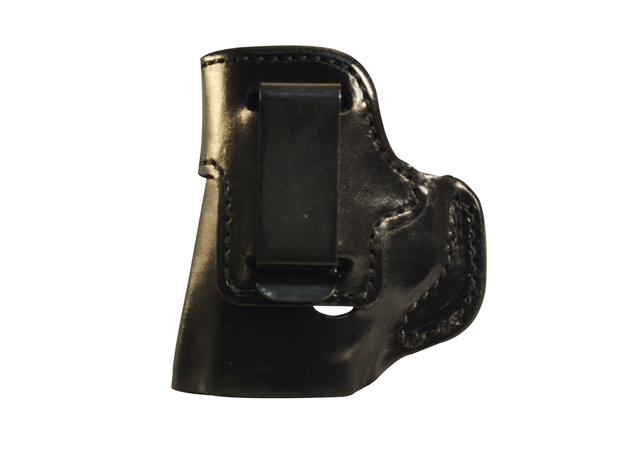 DeSantis Inside Heat Inside the Waistband Holster Kimber Micro 9 Leather Black