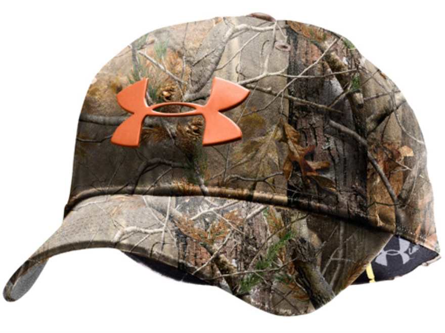Realtree Camo Hat >> Under Armour Make It Rain Adjustable Cap Polyester - MPN: 1221105-340