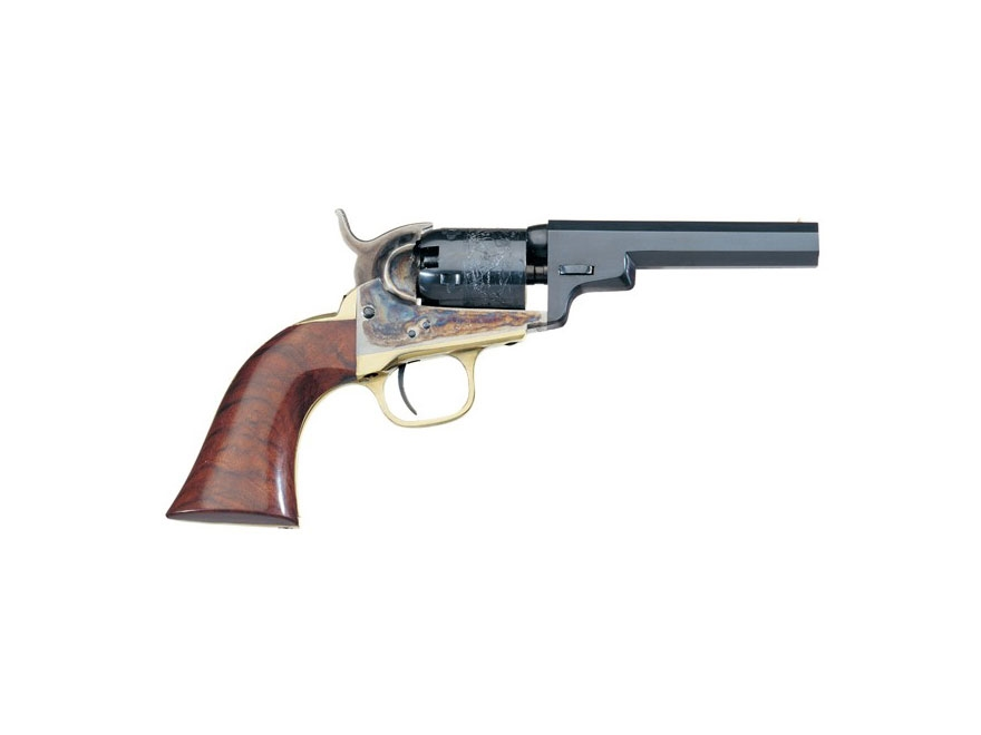 "Uberti 1849 Wells Fargo Black Powder Revolver 31 Caliber 4"" Barrel Steel Frame Blue"