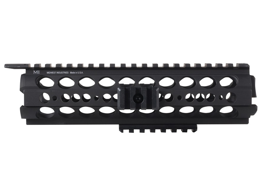 Midwest Industries SS-Series 2-Piece Drop-In Modular Rail Handguard AR-15 Mid Length Al...
