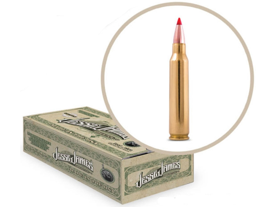 Jesse James TML Ammunition 223 Remington 60 Grain Hornady V-Max Box of 50