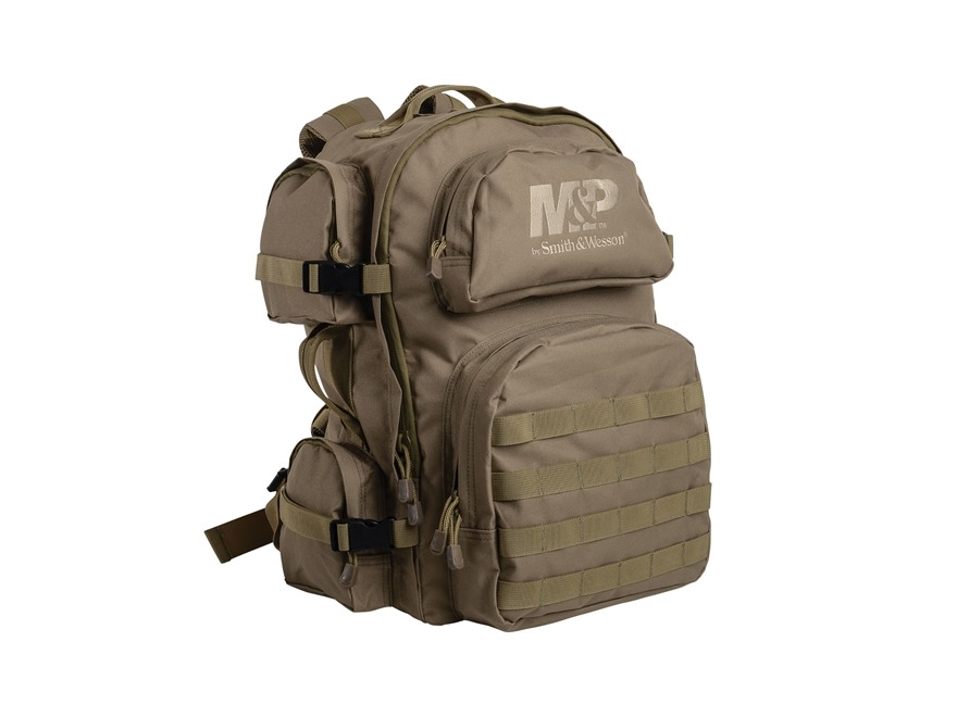Smith & Wesson M&P Intercept Tactical Backpack Nylon Tan