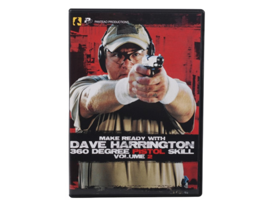 "Panteao ""Make Ready with Dave Harrington: 360 Degree Pistol Skill, Vol 2"" DVD"
