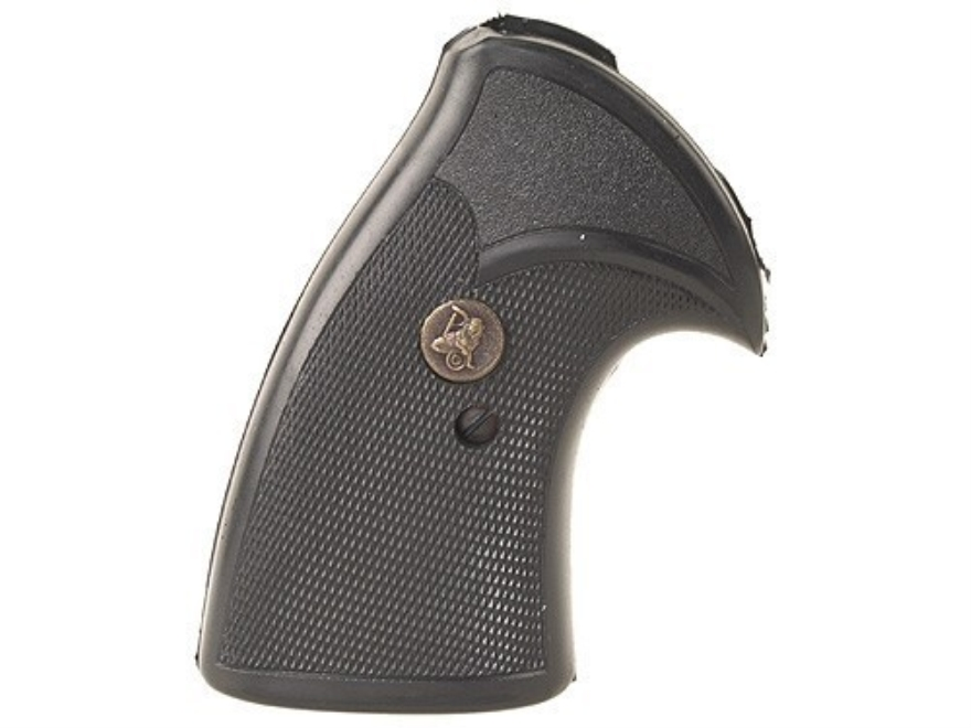 Pachmayr Presentation Grips Colt Lawman, Trooper Rubber Black
