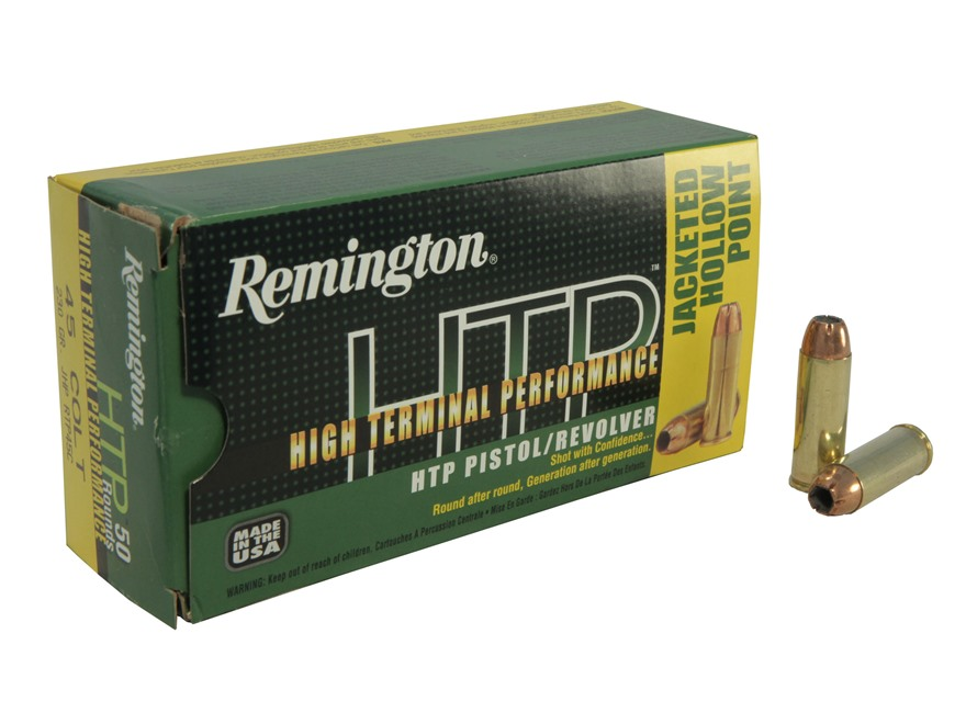 Remington High Terminal Performance Ammunition 45 Colt (Long Colt) 230 Grain Jacketed H...