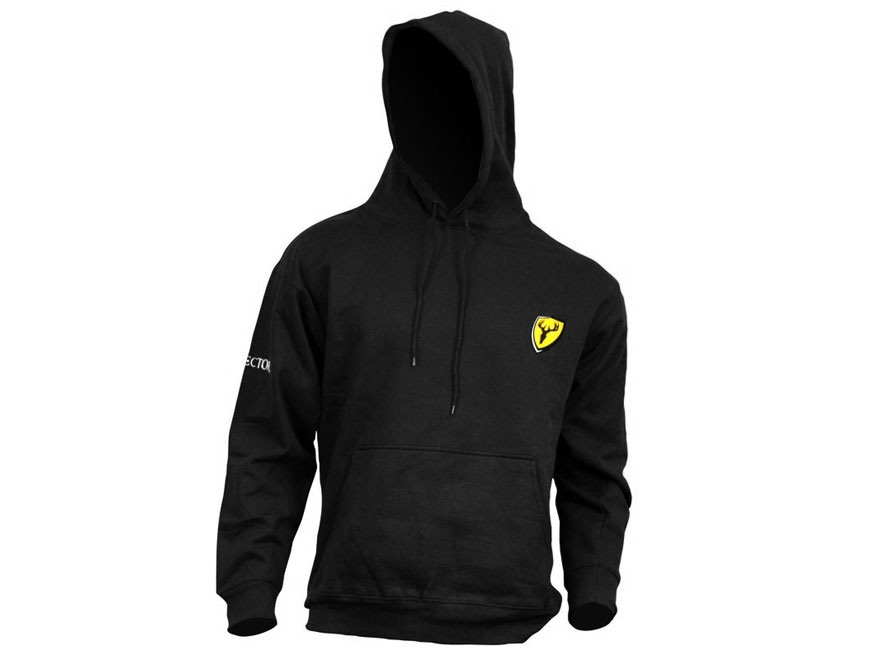 ScentBlocker Men's Bone Collector Logo Hooded Sweatshirt Cotton Polyester Blend Black M...