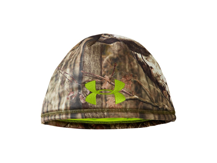 Under Armour Dead Calm Scent Control Beanie Polyester Realtree AP XTRA Camo L/XL