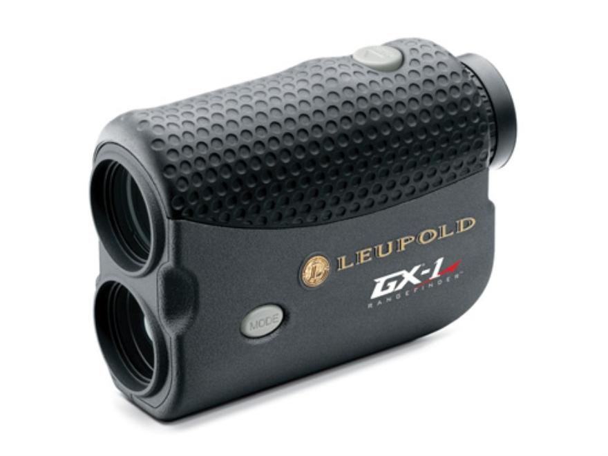 Leupold GX-1 Golf Laser Rangefinder 750 Yard 6x Black