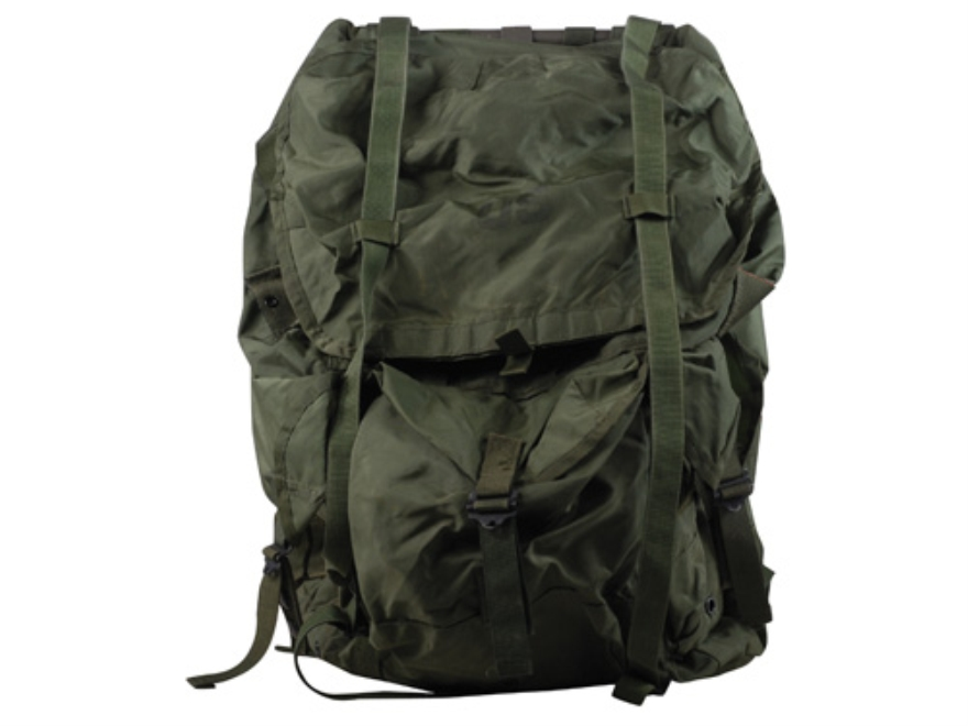 Military Surplus Medium ALICE Pack Complete with Frame Assembly New Condition Nylon Oli...